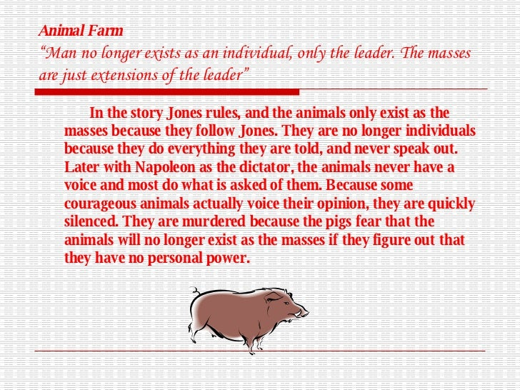Essay On Animal Farm