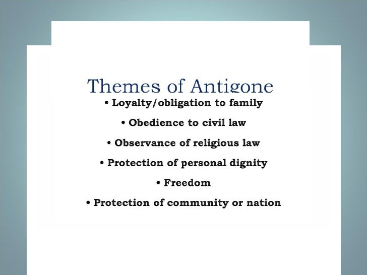 themes of antigone Struggling with the themes of sophocles's antigone we've got the quick and  easy lowdown on them here.