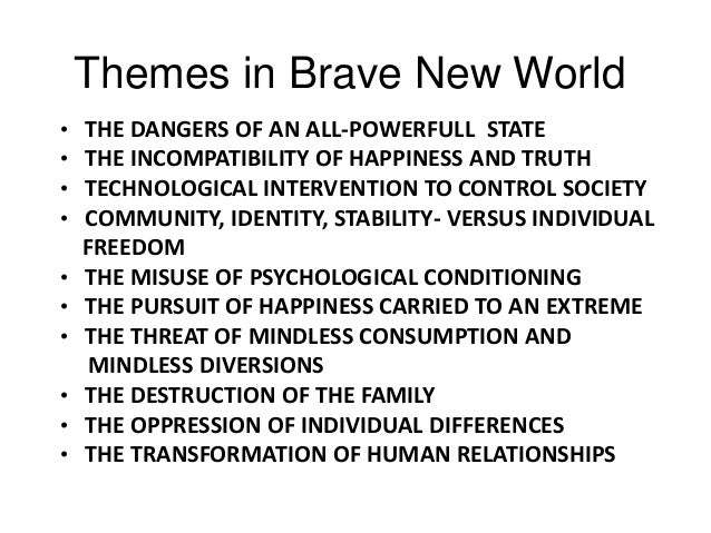 brave new world literary analysis Brave new world, this is a study novelguidecom is the premier free source for literary analysis on the web.