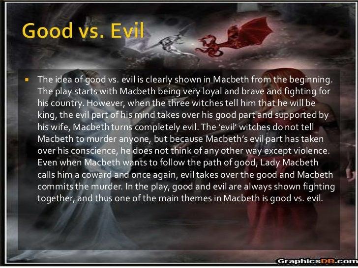 evil in king lear