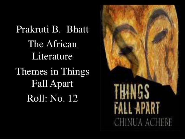 things fall apart exple essay