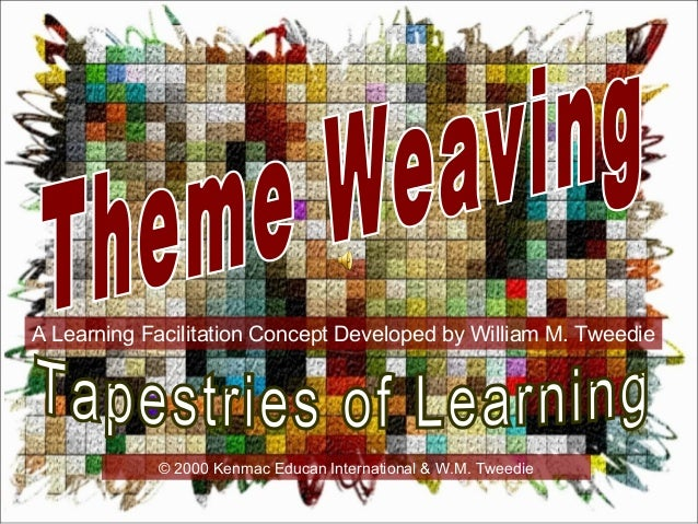 A Learning Facilitation Concept Developed by William M. Tweedie © 2000 Kenmac Educan International & W.M. Tweedie