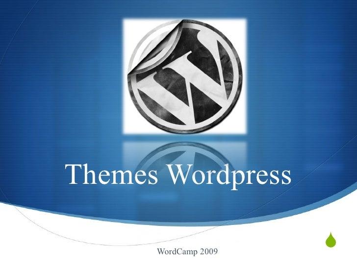 Themes Wordpress WordCamp 2009