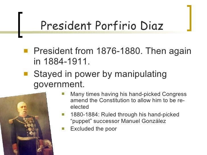 porfirio diazs leadership tactics essay