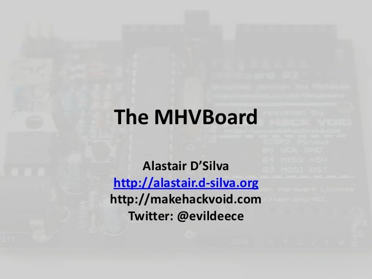 The MHV Board