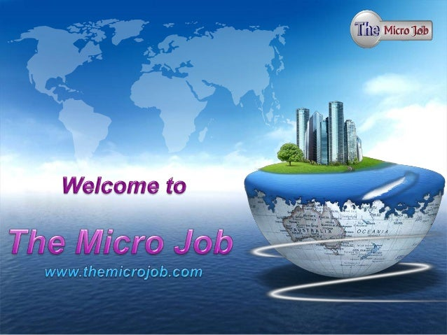Turn your online time into money.  Micro Jobs Online are simple and quick task for online job seekers and employers. Get p...