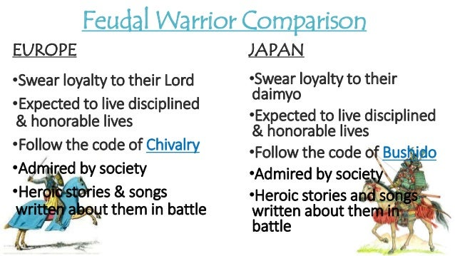"a comparison between the knights of medieval europe and the samurai of feudal japan ""this is a full-strength, full-power battle it's hard-hitting,"" noyes, 45, explained to the japan times the jabl will feature fighters in feudal-era (1185-1573/1600) samurai armor, wielding swords against opponents fully-equipped as 15th-century european knights."
