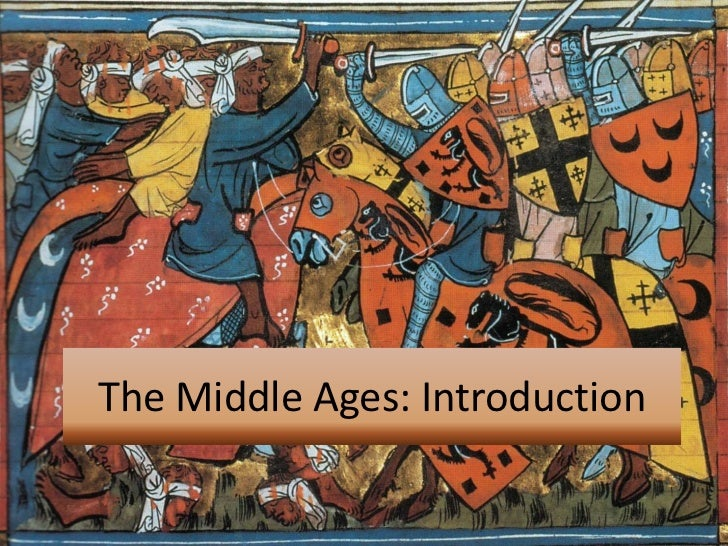 Ideas for an essay on the middle ages?