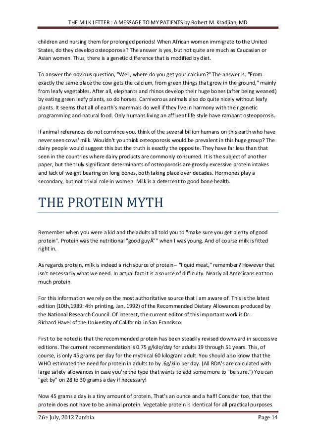 got milk study essay In a paper that incorporates research from secondary sources, your evidence  may  eating more soy and soy milk, and her levels eventually got much better.