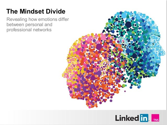 The Mindset DivideRevealing how emotions differbetween personal andprofessional networks