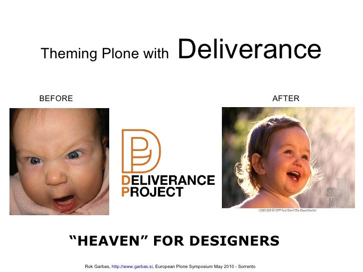 Theming Plone with Deliverance