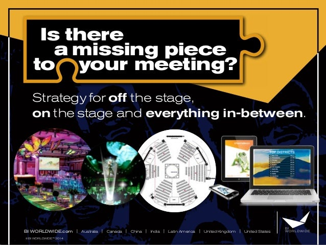 Are You Missing A Piece To Your Corporate Meeting?
