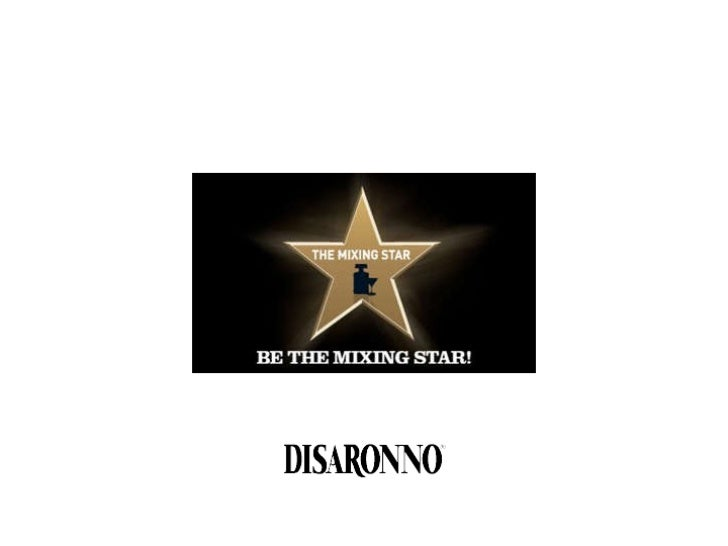 The Mixing Star. Disaronno bartender competition. Case history