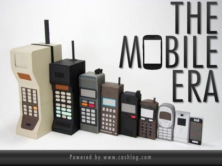 The Mobile Era: the rise of Mobile Commerce & Mobile Payments [powered by Cashlog]