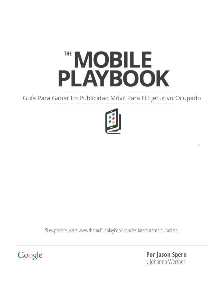 Guía de Marketing Móvil de Google