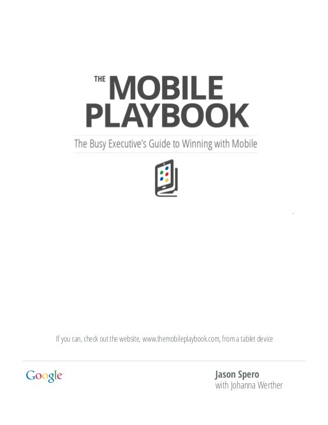 Themobileplaybook english