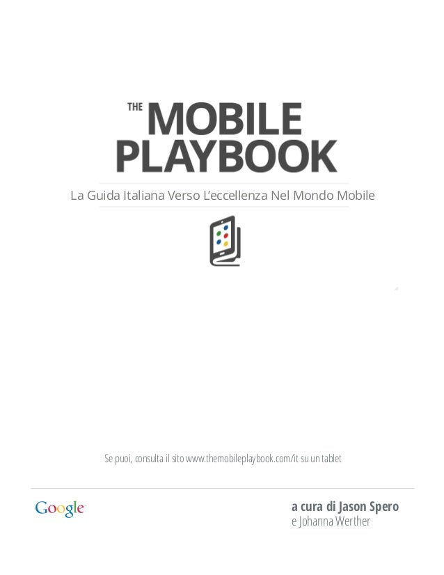 Themobileplaybook italiano