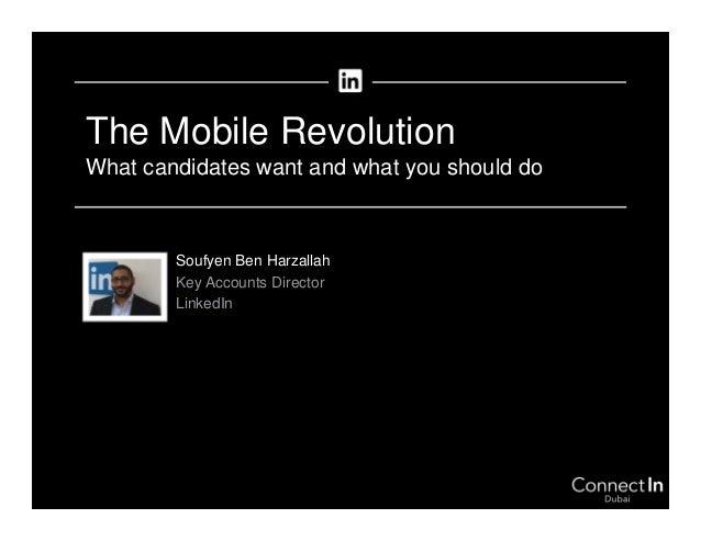 The Mobile Revolution | ConnectIn Dubai