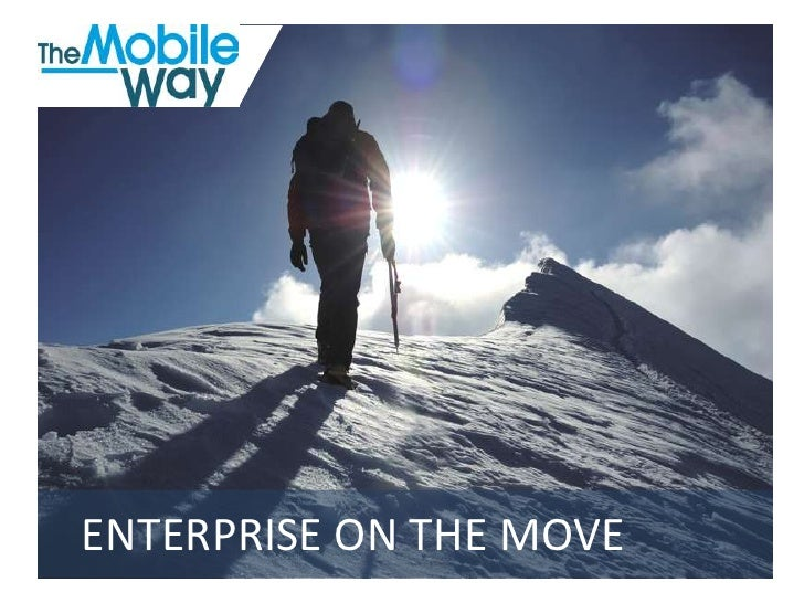 The Mobile Way Ppt