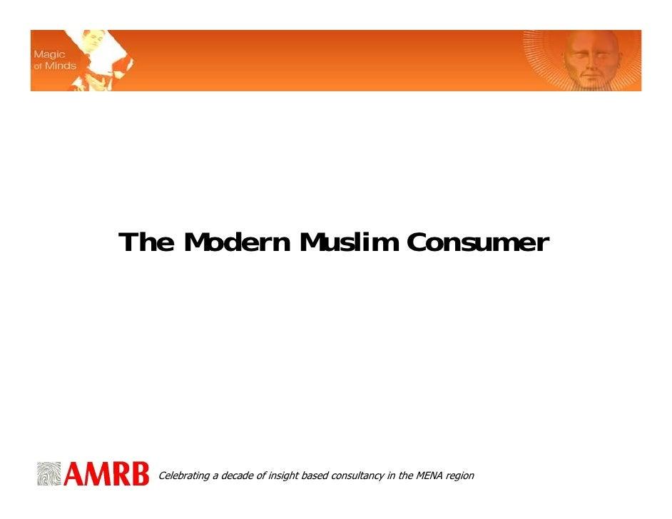AMRB: The Modern Muslim Consumer
