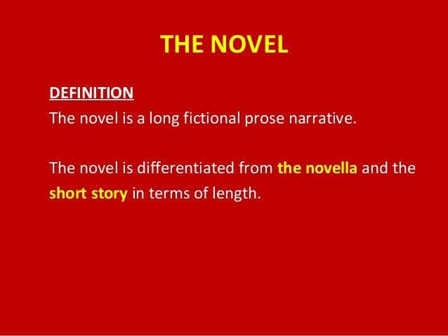 Fictional novel