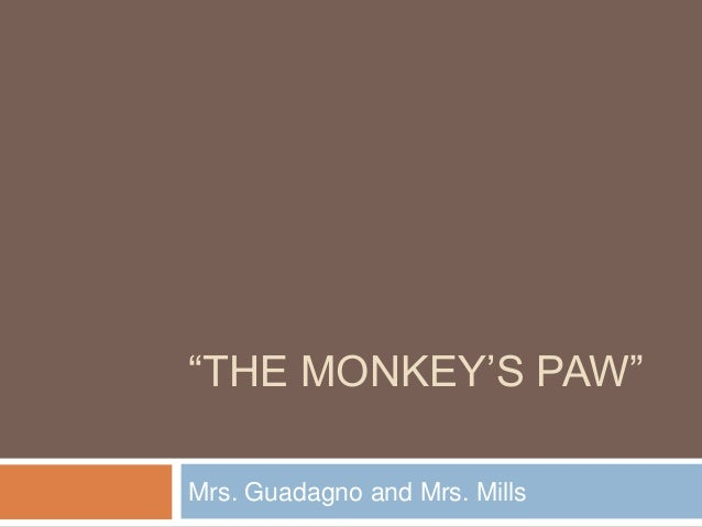 The Monkey's Paw- Active Reading