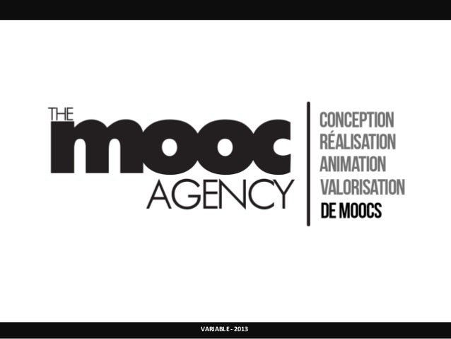 The mooc agency - Web-conférence du FFFOD du 10/12/13