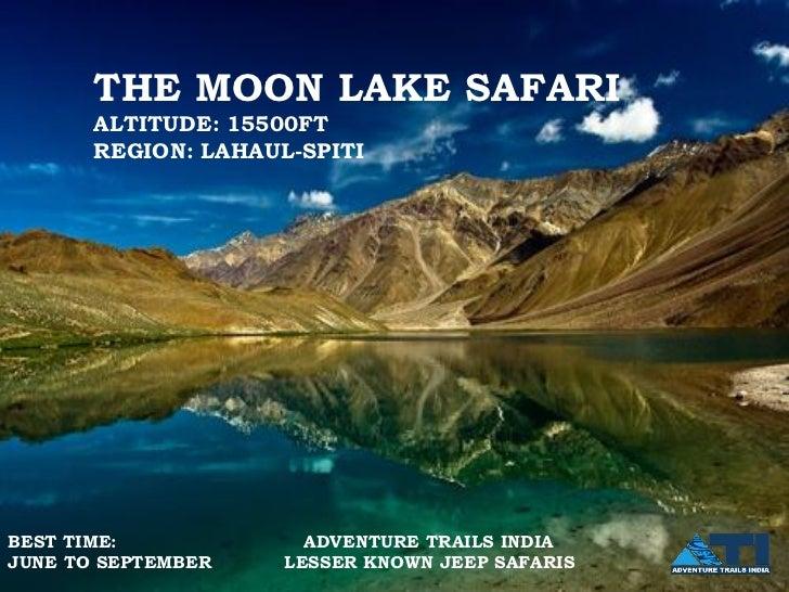 The Moonlake Safari