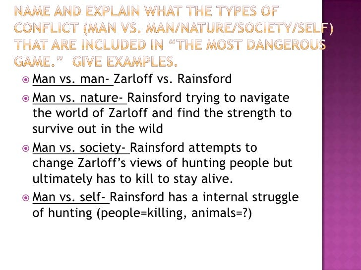 Compare and contrast essay on the most dangerous game