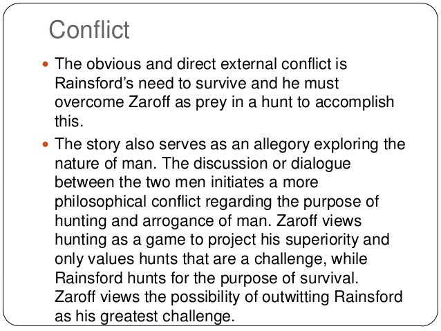 The Most Dangerous Game General Zaroff Essay About Myself - Essay ...