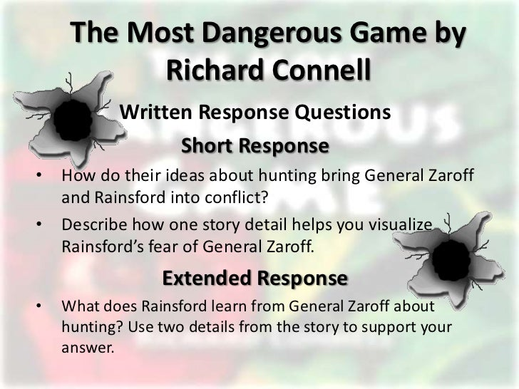 The most dangerous game essay questions