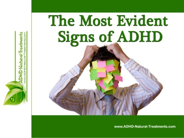 The Most Evident Signs Of ADHD