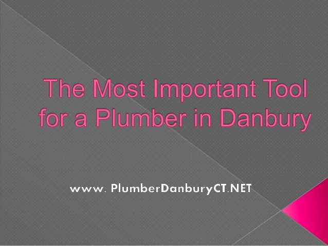 There are several tools that a plumber in Danbury should have, but there is a tool that is considered as the most importan...