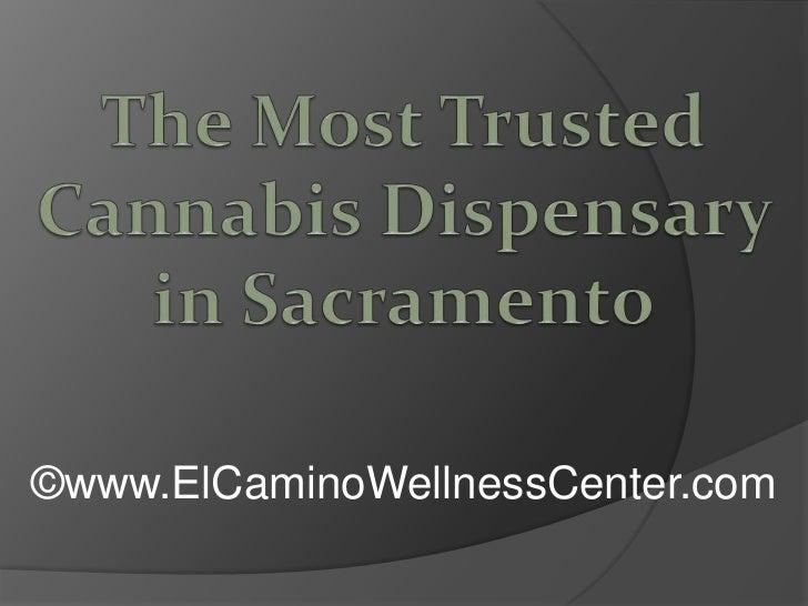 The Most Trusted Cannabis Dispensary in Sacramento<br />©www.ElCaminoWellnessCenter.com<br />