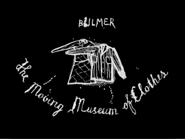 The moving museum of clothes presentation conference 20 & 21 June