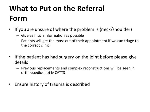 What is a referral system?