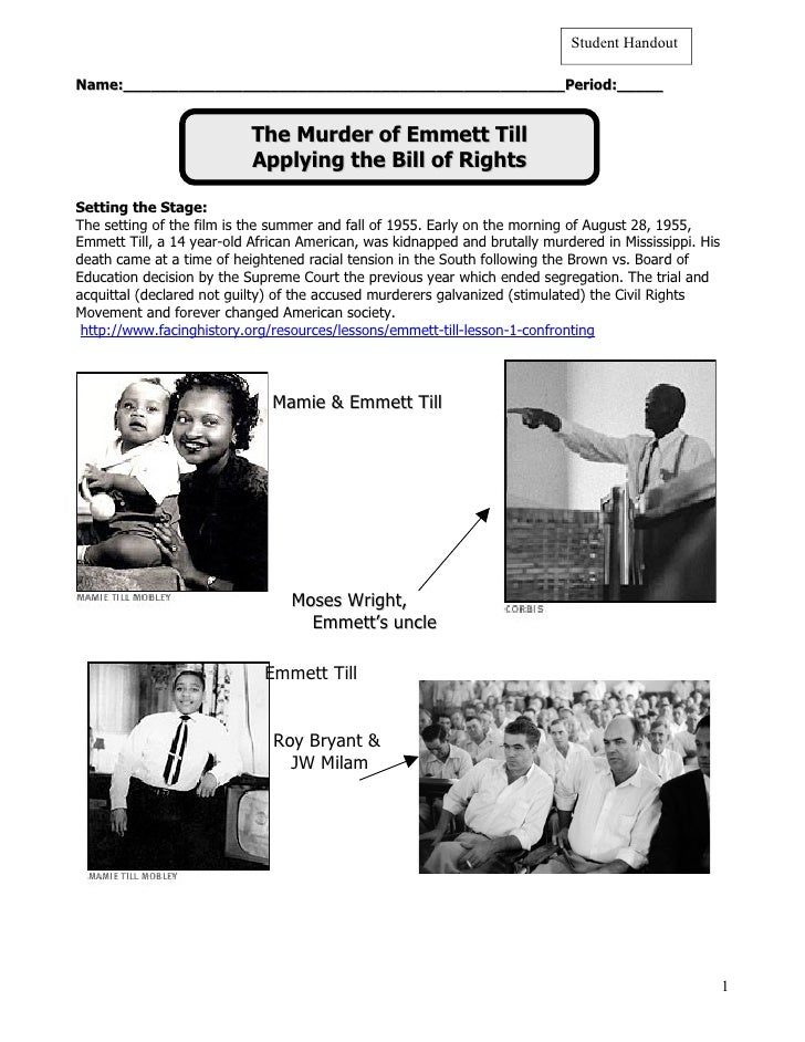 PBS: The Murder of Emmett Till