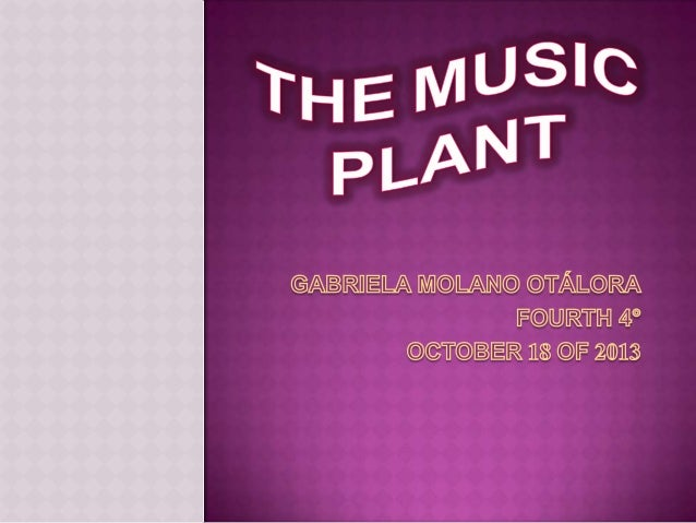 I  planted two seeds of beans in two pots , one of plants I puted katy perry music and I did´nt do anything to the other ...