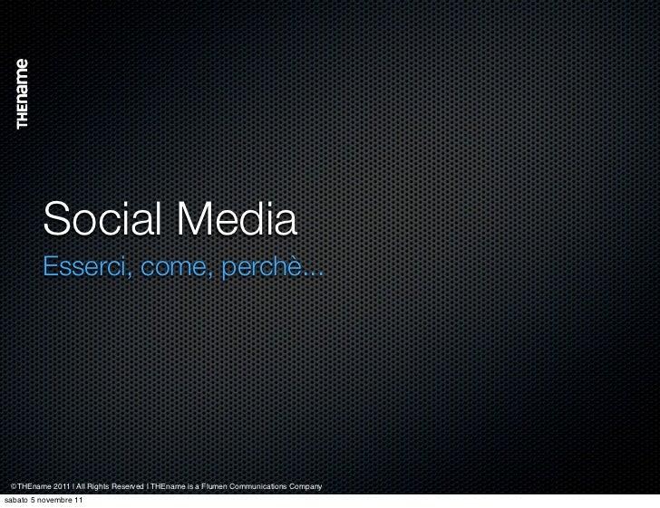 Thename Group social