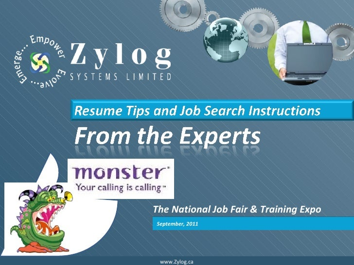 The National Job Fair and Training Expo Resume Experts