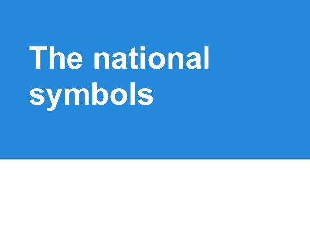 The national symbols