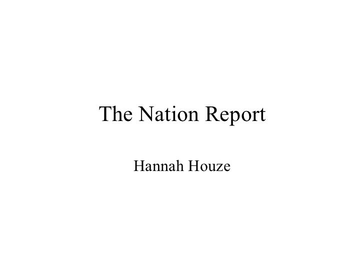The nation report