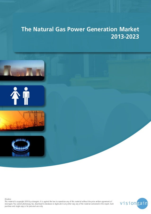 The natural gas power generation market 2013 2023