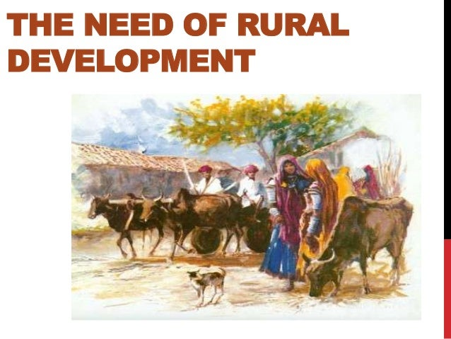 about rural development