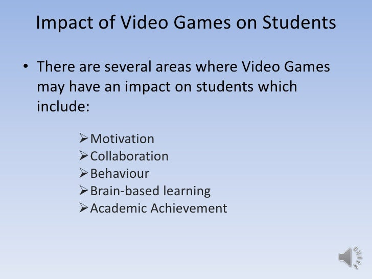 positive and negative effects of video games essay Recent studies have shown that video games have positive as well as negative  impacts on children these studies are still subject to debate.
