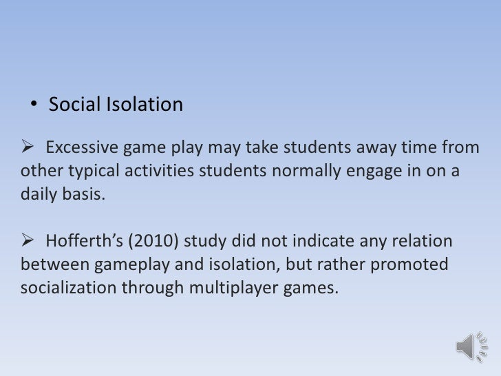RESEARCH PAPER: effects of playing on-line computer games in academic performance of students?