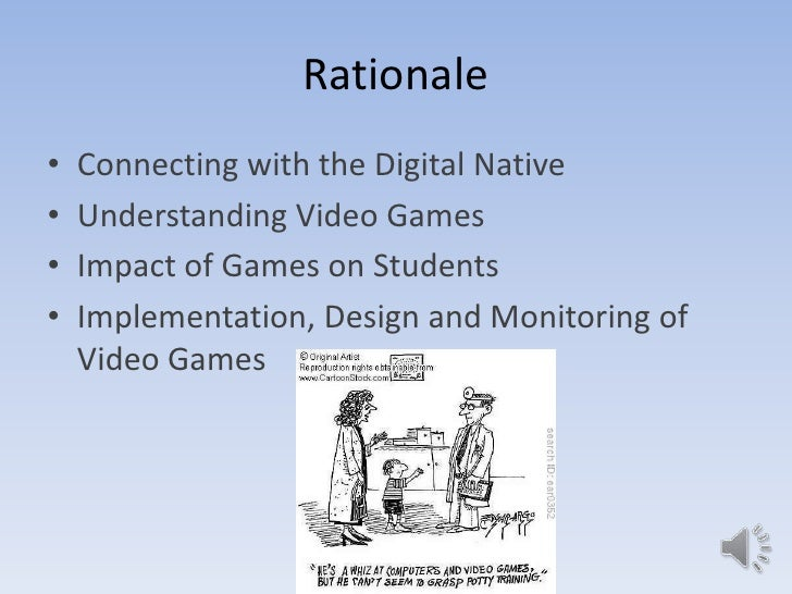 video games have negative effects on Positive effects of video games children and young people essay  negative side effects of video games, i have found  positive effects of video games on.