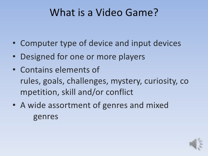 why videogames are good for you essay Argumentative essay: video games take a look at today's generation a student comes home from school at around three or four o'clock in the afternoon.