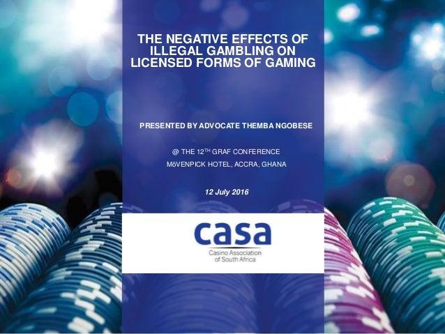 effects of gambling