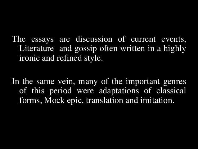 Classic Literature Essay?